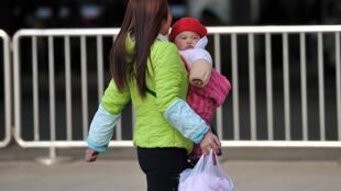 A cause de la pandémie, la Chine a enregistré une baisse des naissances de 12% par rapport à l'année dernière, soit 1 800 000 bébés de moins. (Photo d'illustration)