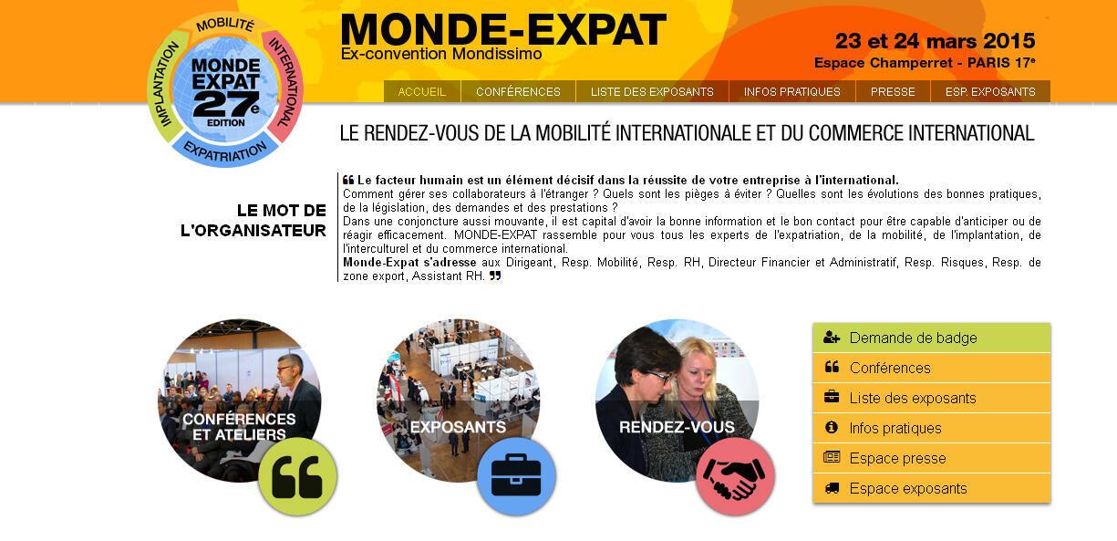Le salon s'est tenu à Paris du 23 au 24 mars 2015.