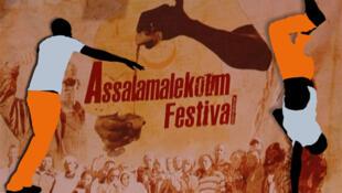 L'affiche du Festival Hip Hop Assalamalekoum 2012.