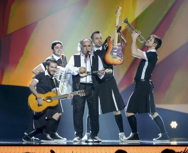 Candidatos gregos do Eurovisão 2013.