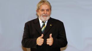 Luiz Inacio Lula Da Silva, président du Brésil.