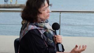 """Ana Maria Miranda, em Cannes fala sobre """"João e a Faca""""."""