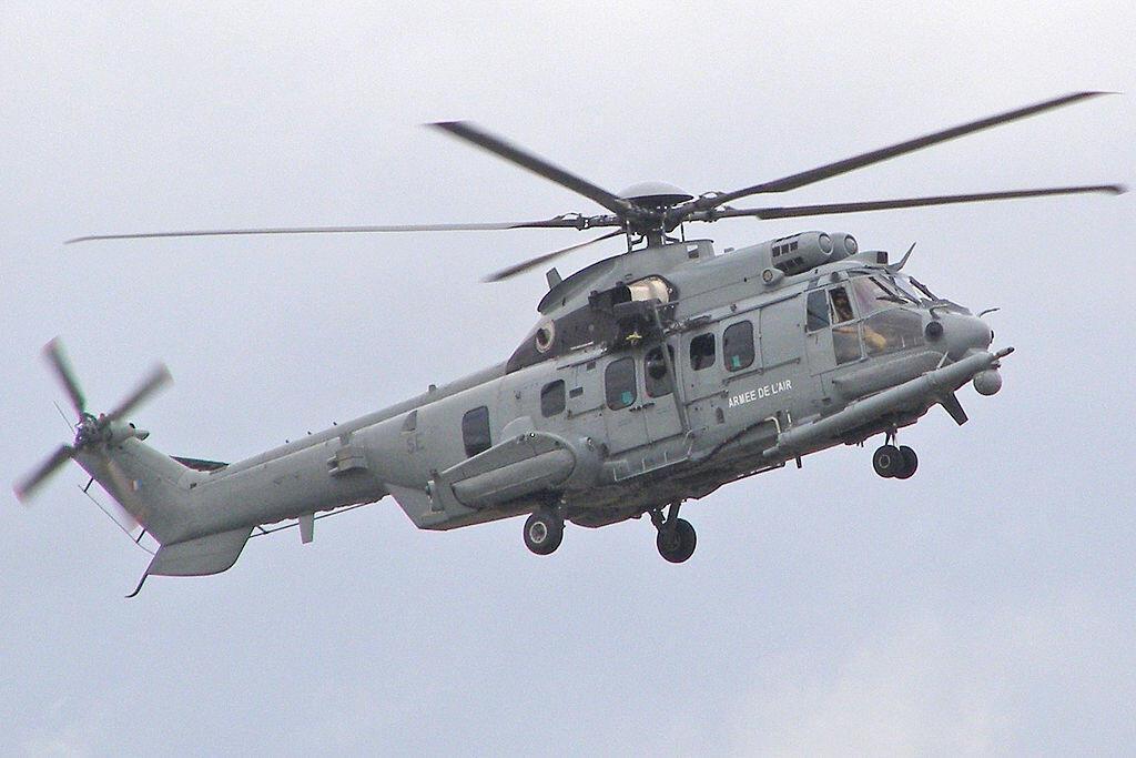 Вертолет EC-725 ВВС Казахстана производства компании Eurocoptère.