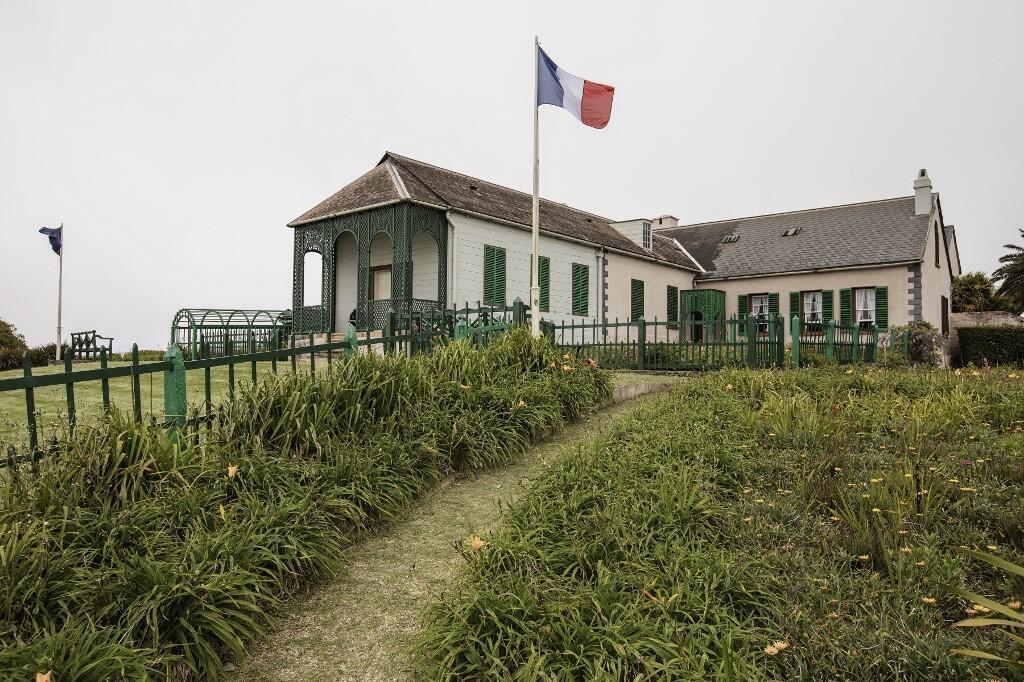 Longwood, la dernière résidence de Napoléon Bonaparte, à Sainte-Hélène.