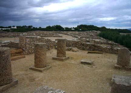 Site archéologique de Kerkouane.