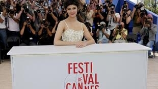 A atriz francesa Audrey Tautou