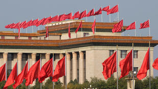 Nơi diễn ra Đại Hội Đảng Cộng Sản Trung Quốc lần thứ 19, Bắc Kinh. Ảnh chụp ngày 23/10/2017.