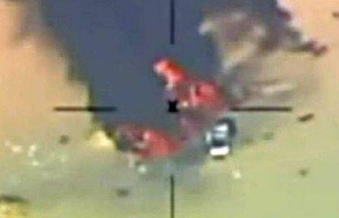 تصاویر بمباران شهر درنه از سوی جنگندههای مصر