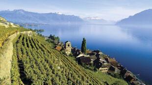 瑞士山水圖片