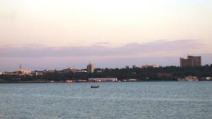 Kisumu is on the northeast shore of Lake Victoria in Kenya.