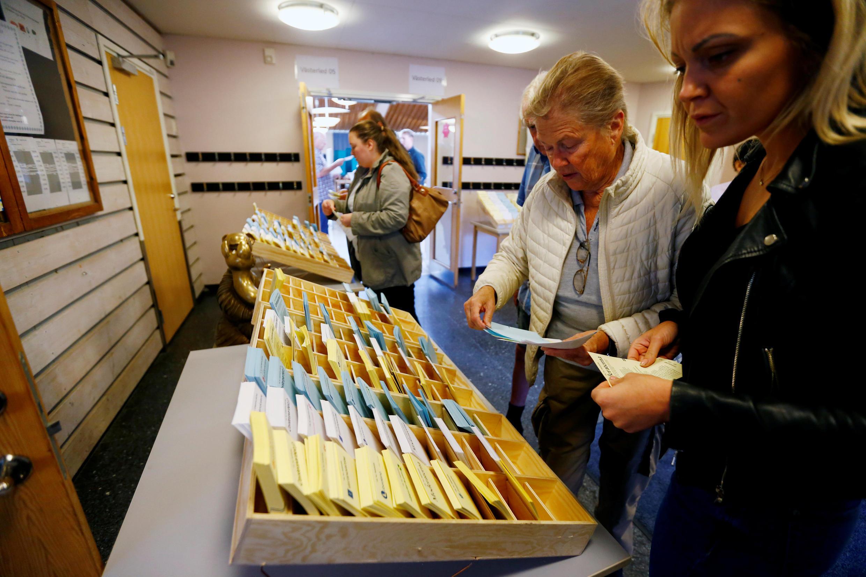 Elections législatives en Suède ce dimanche 9 septembre: le score du parti des Démocrates (extrême-droite) est l'un des enjeux du scrutin.