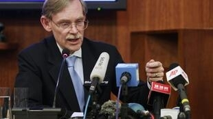 O presidente do Banco Mundial, Robert Zoellick.