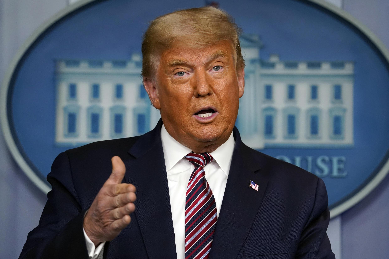 PHOTO Donald Trump - Maison Blanche le 5 novembre 2020