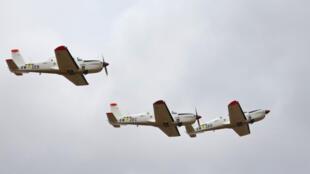 Les TB-30 Epsilon de l'armée de l'air sénégalaise participeront mercredi 4 juillet à la journée de l'air à Dakar.