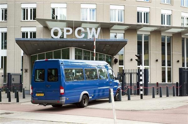 OPCW سازمان منع گسترش سلاحهای شیمیایی