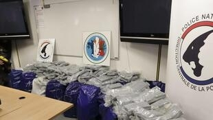 The 1.4 tonnes of cocaine was seized on Tuesday.