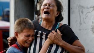 委內瑞拉瓦倫西亞監獄火災68死親屬悲痛2018年3月28日