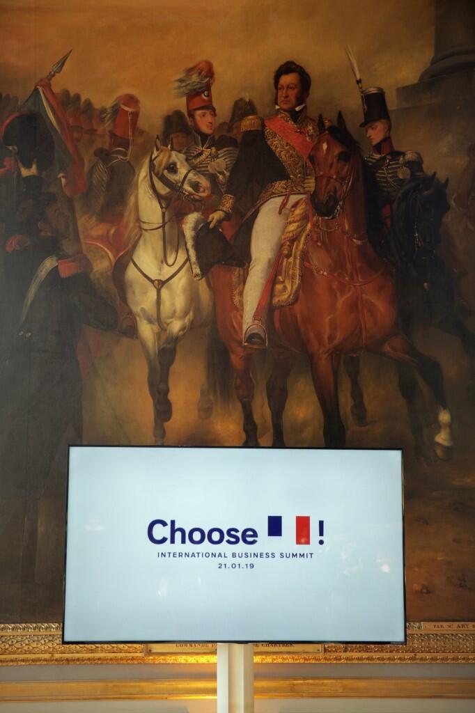 Avec «Choose France», Emmanuel Macron veut promouvoir les investissements étrangers en France auprès des milieux d'affaires.