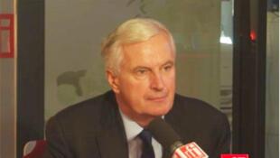 Michel Barnier, commissaire européen en charge du Marché intérieur et aux Services et vice-président du Parti populaire européen (PPE).