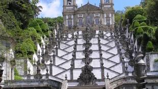 Santuário do Bom Jesus do Monte, em Braga.