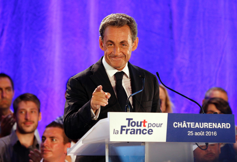 Nicolas Sarkozy, candidato às primárias das presidenciais de 2017 em França, defende estado forte
