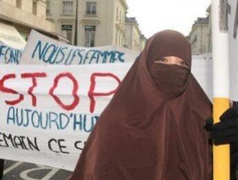 France 24 TV on burka law draft