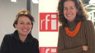 Elina Dumont et Emmanuelle Bastide.