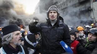 Kiev, le 23 janvier 2014.