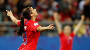 Alex Morgan scored five goals in the United States' win over Thailand.