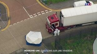 کامیونی که حامل ٣٩ جسد بود در  نزدیکی لندن کشف شد