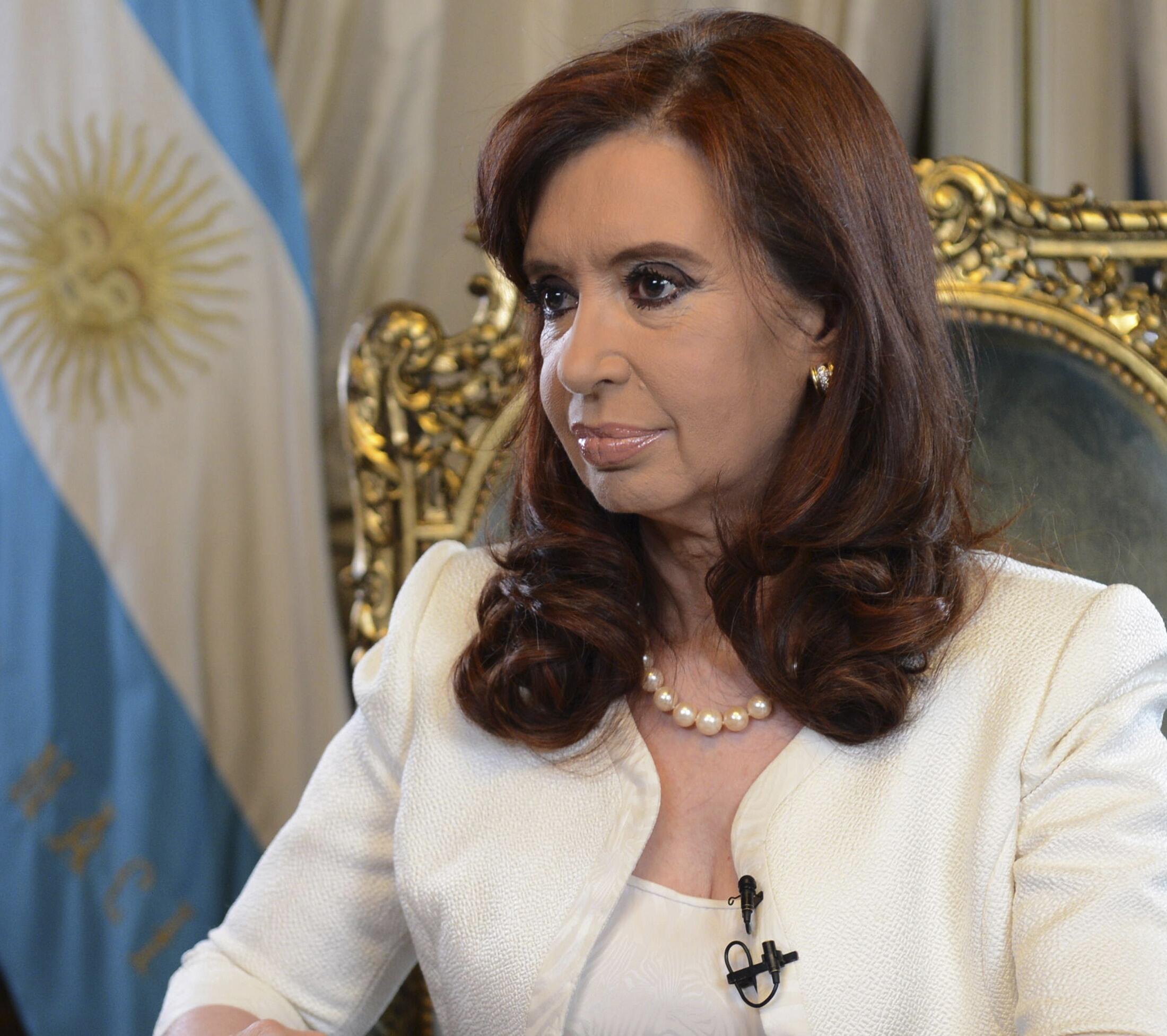A presidente argentina, Cristina Kirchner, em foto de arquivo.