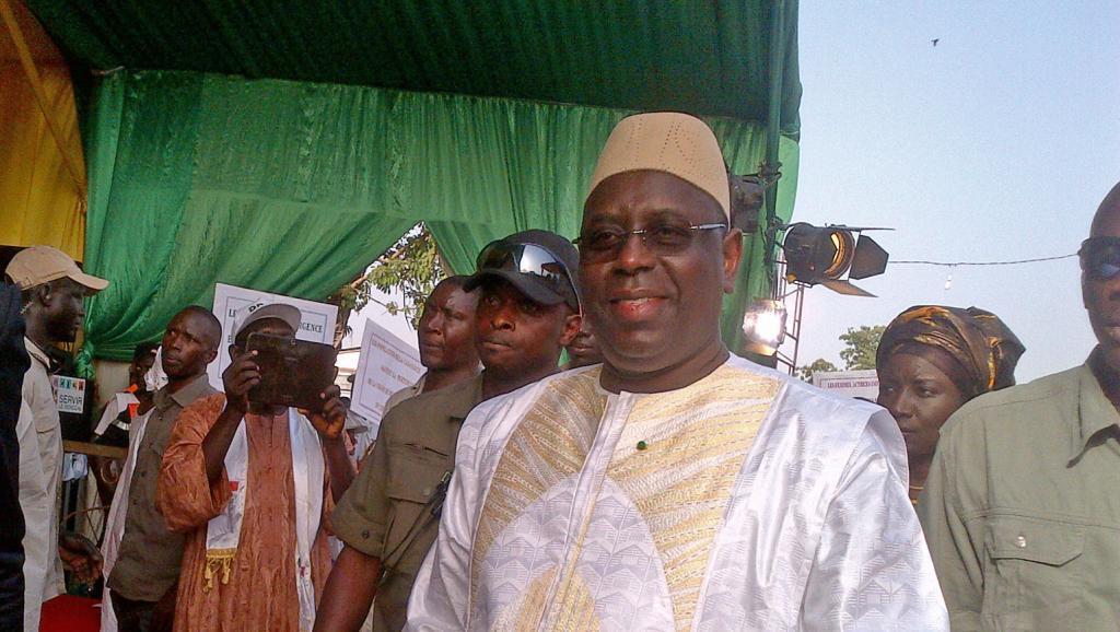 Senegalese President Macky Sall