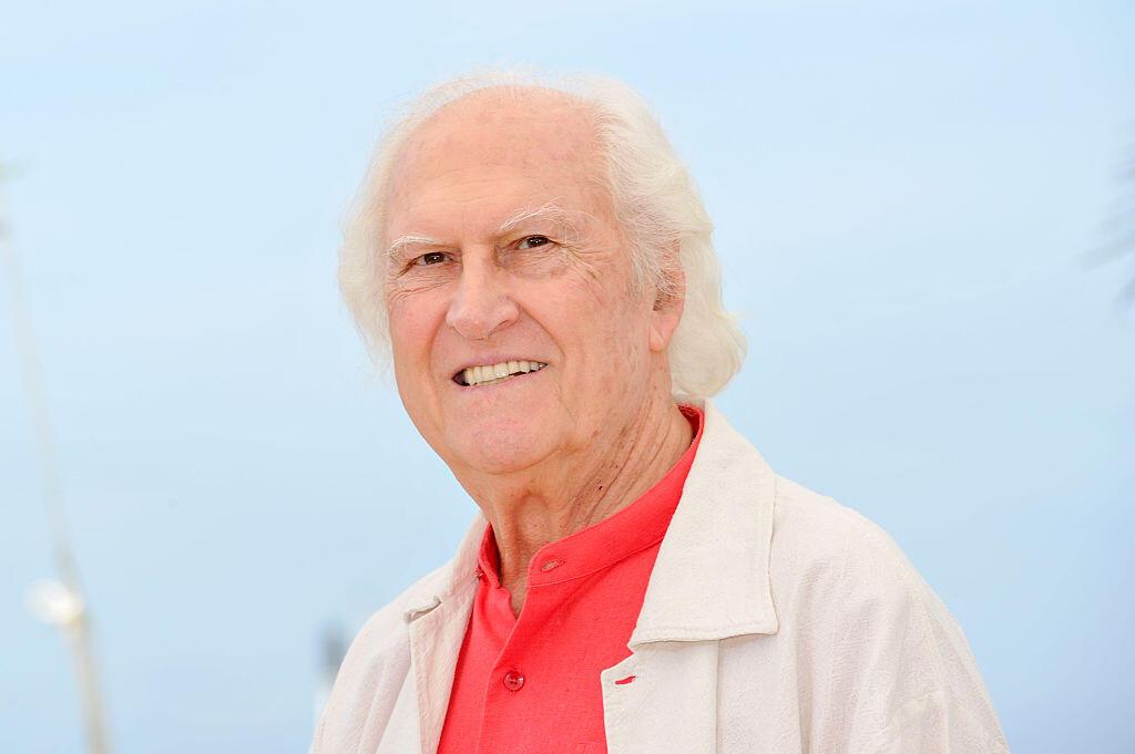 Fernando «Pino» Solanas en mai 2015 au festival de Cannes : son oeuvre a remporté de nombreux prix et distinction dans les plus grands festivals : Cannes, Venise, Berlin, etc.