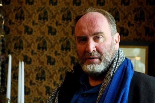 L'écrivain français Serge Joncour, lauréat du prix Interallié 2016 pour « Repose-toi surmoi ».