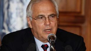 L'émissaire spécial du secrétaire général de l'ONU, Christopher Ross.