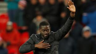 Le Sénégalais Badou Ndiaye, présenté aux supporters de Stoke City (Angleterre).