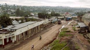 Vue de la localité de Bunia, en RDC (image d'illustration).