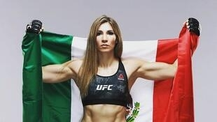 Irene Aldana es la #9 del mundo en peso gallo de la Ultimate Fighting Championship.