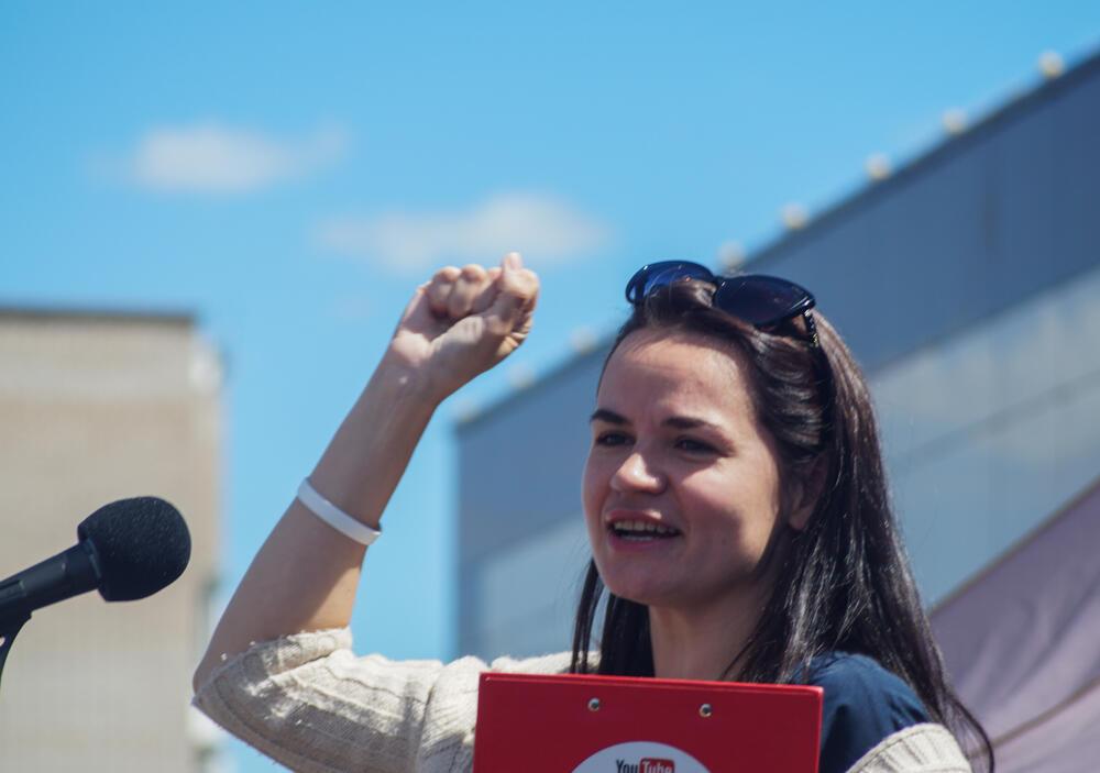 Belarus Svetlana Tihanovskaia