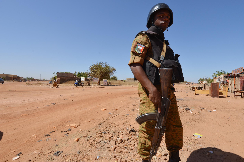 Un gendarme burkinabè. (photo d'illustration).