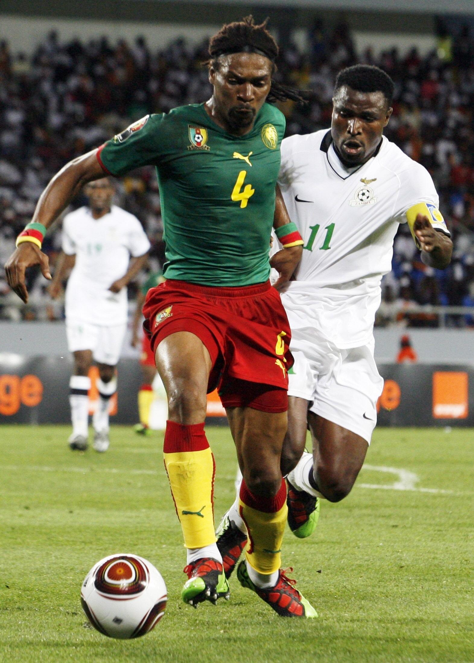 Nyota wa zamani wa timu ya taifa ya soka ya Cameroon, Rigobert Song.