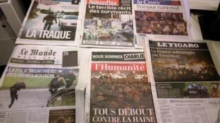 Diários franceses 09/01/2015
