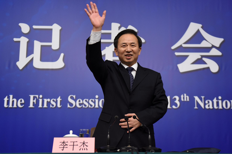 中国环保部长李干杰2018年3月17日北京