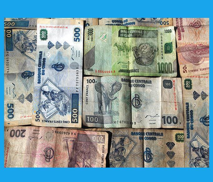 Des francs congolais (image d'illustration).