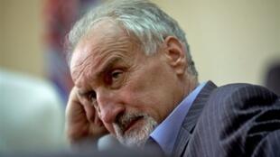 Le procureur serbe chargé des crimes de guerre Vladimir Vukcevic, à Belgrade, le 8 septembre 2008.