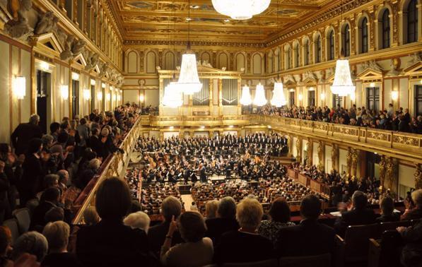 Concerto de Ano Novo no Musikverein de Viena