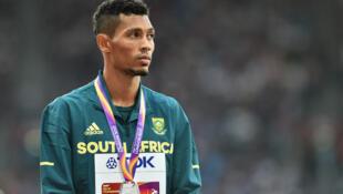 Le Sud-Africain Wayde van Niekerk n'a plus disputé de compétitions depuis 2017.