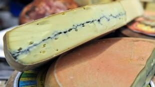 Morbier French cheese