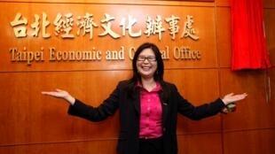 賴幸媛為台灣駐港機構新牌銜主持揭牌儀式2011年7月20日