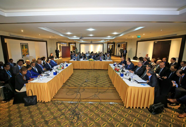 Des pourparlers, à Khartoum, le 21 décembre 2019 sur le barrage de la Renaissance sur le Nil (photo d'illustration).